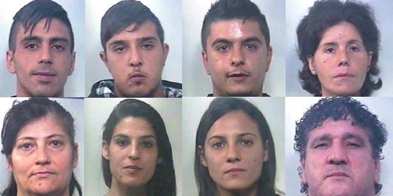 Armi e droga, 8 arresti nel Calatino: il ruolo delle donne