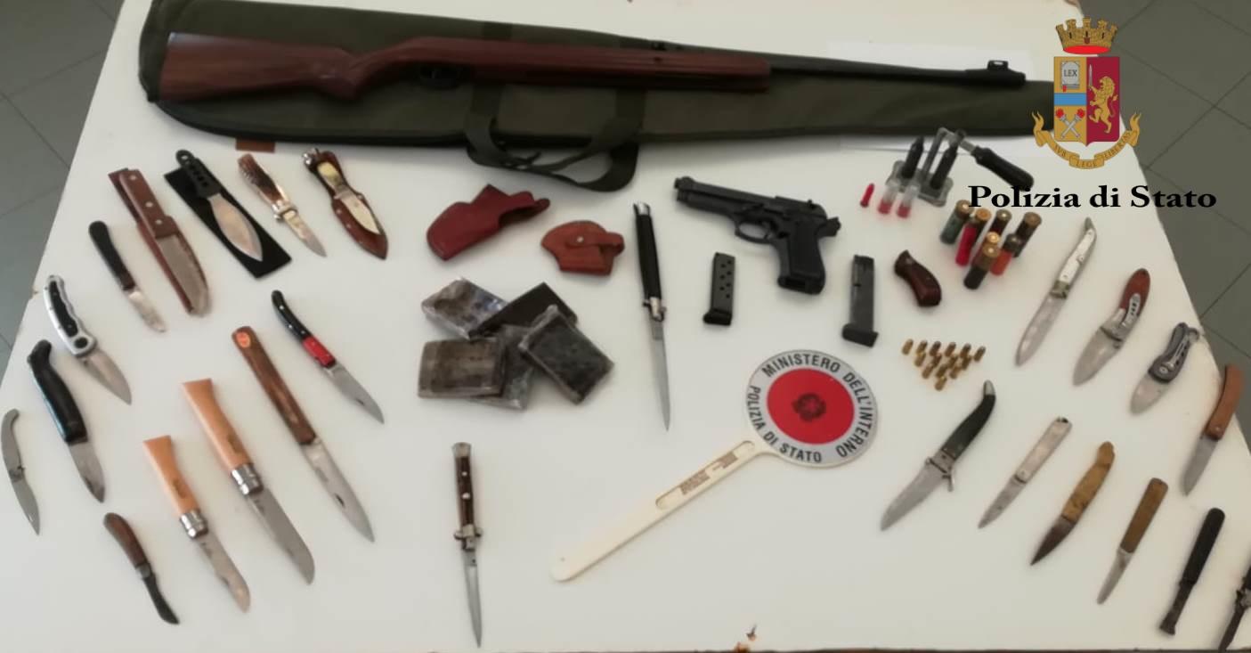 Armi e droga a Brancaccio, la polizia arresta un palermitano