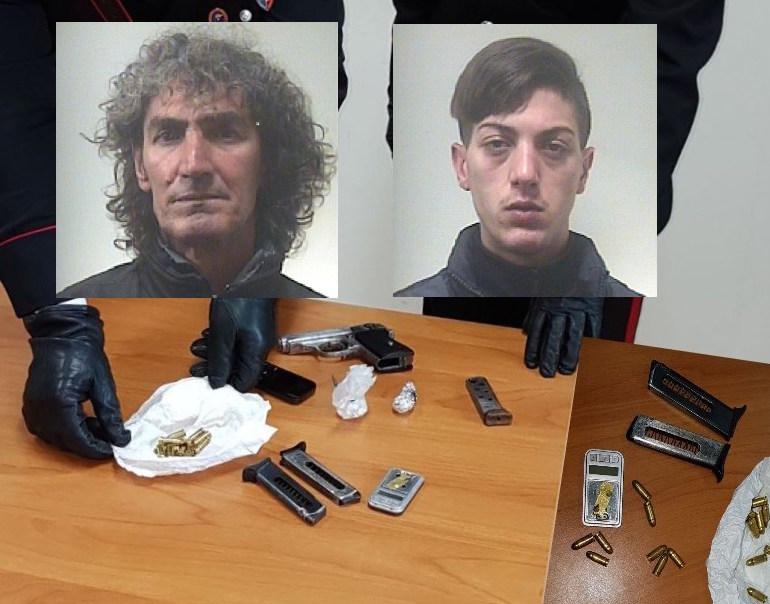 Scappano con armi illegali, inseguiti e arrestati a Lentini