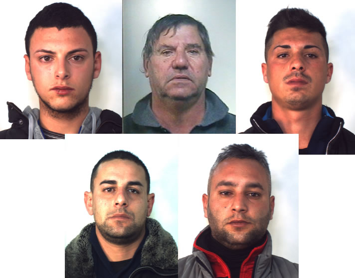 Presa banda di rapinatori seriali catanesi che operavano nel centro e nord Italia