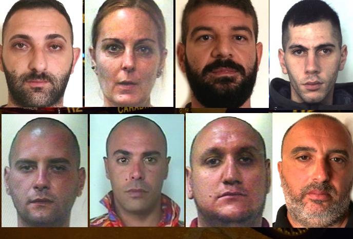 Mafia e droga a Catania, arrestati 8 del clan Cappello-Bonaccorsi
