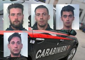 Stavano pianificando un omicidio, cinque arresti tra Grammichele e Floridia
