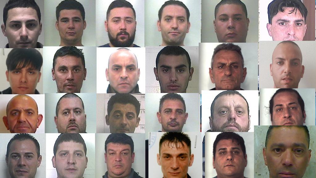 Blitz antimafia a Catania, nomi e foto degli arrestati