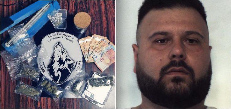 Droga, consegnava la 'mango haze' a domicilio: arrestato a Catania