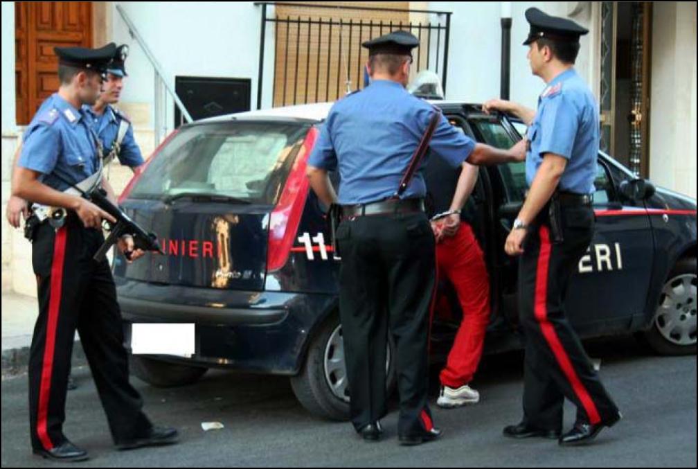 Palermo, deteneva illegalmente pistola e munizioni: finisce in carcere