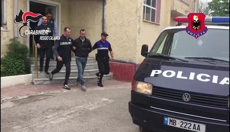 I carabinieri di Locri arrestato un latitante, si nascondeva in Albania