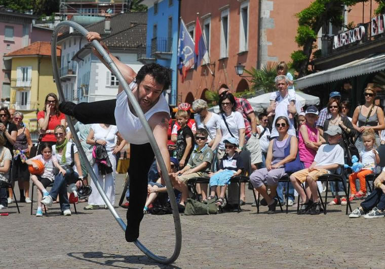 Palermo, per tre giorni il festival internazionale degli artisti di strada