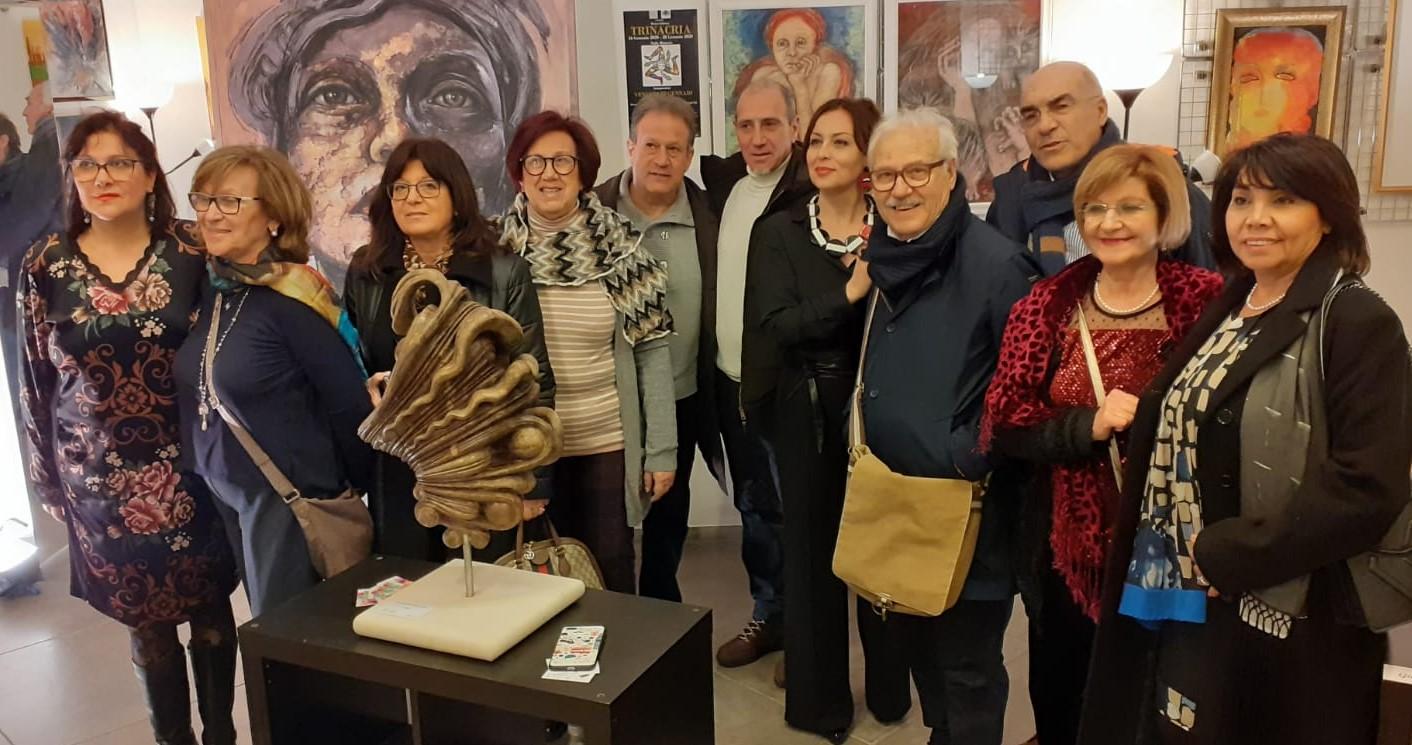 Artisti siciliani espongono a Roma in una galleria di via Margutta