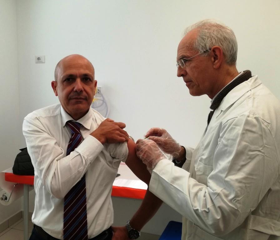 Celebrata a Catania la giornata per la vaccinazione antinfluenzale