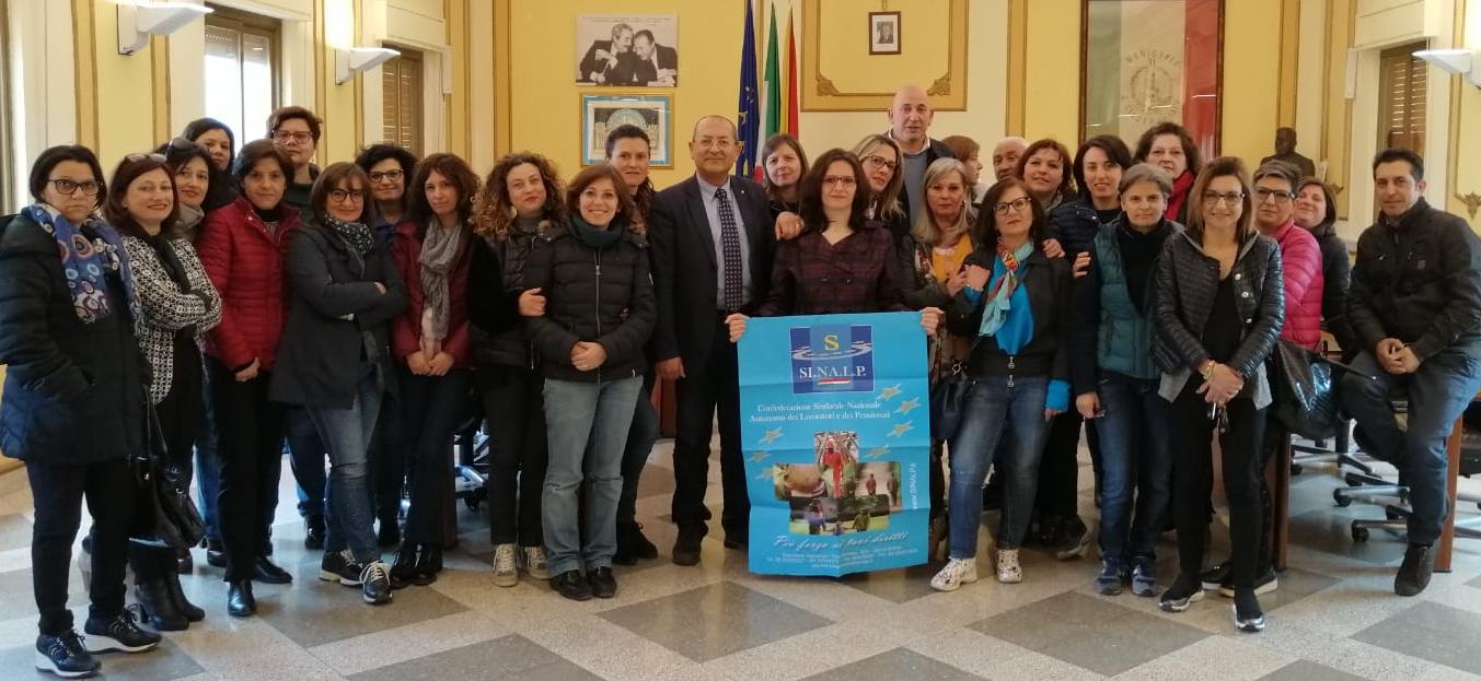 Sinalp Sicilia, riconosciuti i contributi figurativi ai lavoratori Asu