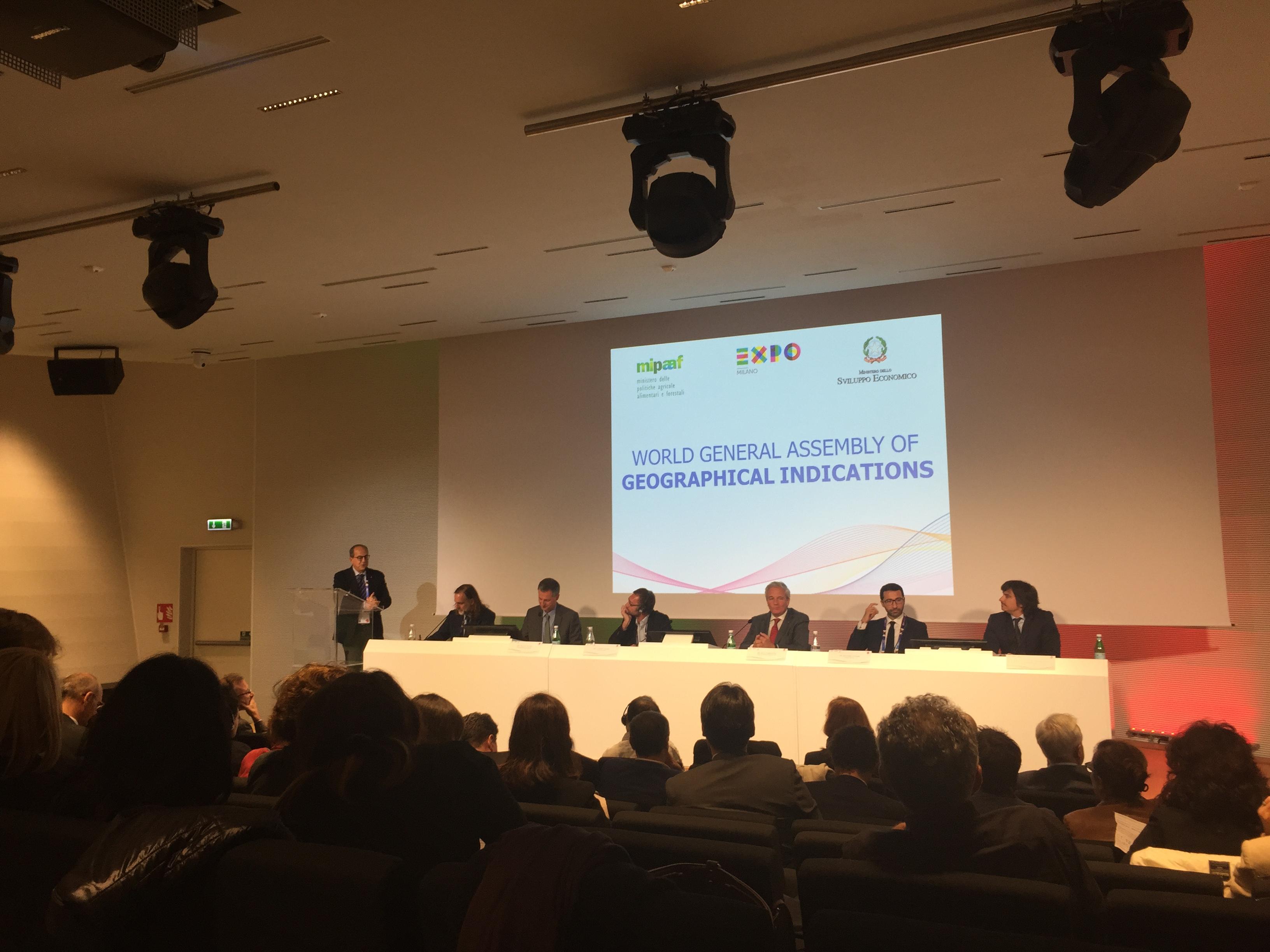 Il Consorzio Igp Pachino all'assemblea mondiale delle Indicazioni Geografiche