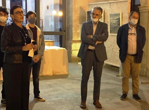 Modica, inaugurata al Convento del Carmine la mostra di Zago e Avezzù