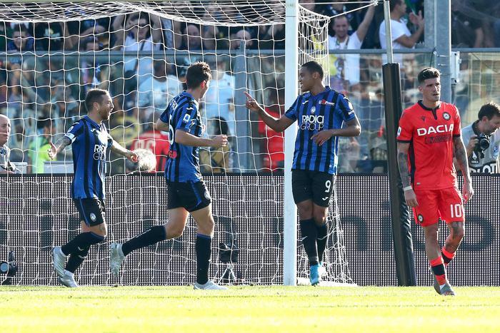 Juve, Inter e Napoli frenano, risorge l'Atalanta: valanga di gol all'Udinese