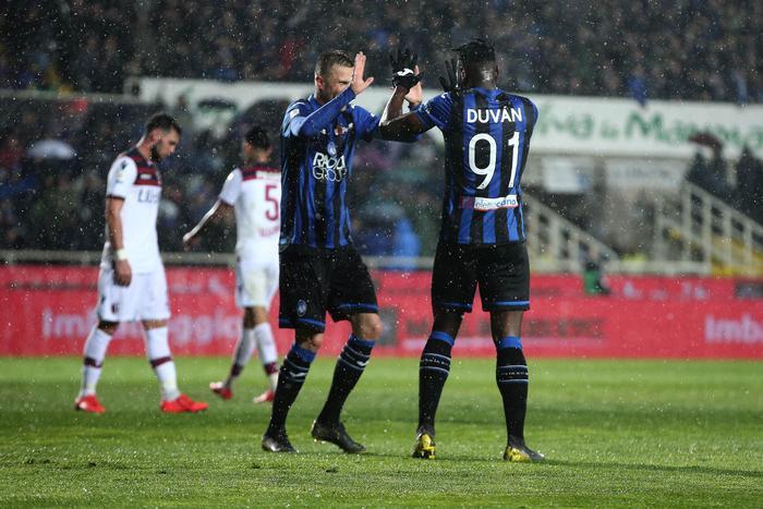 L'Atalanta asfalta il Bologna ( 4 - 1) lo sguardo dei nerazzurri alla Champions