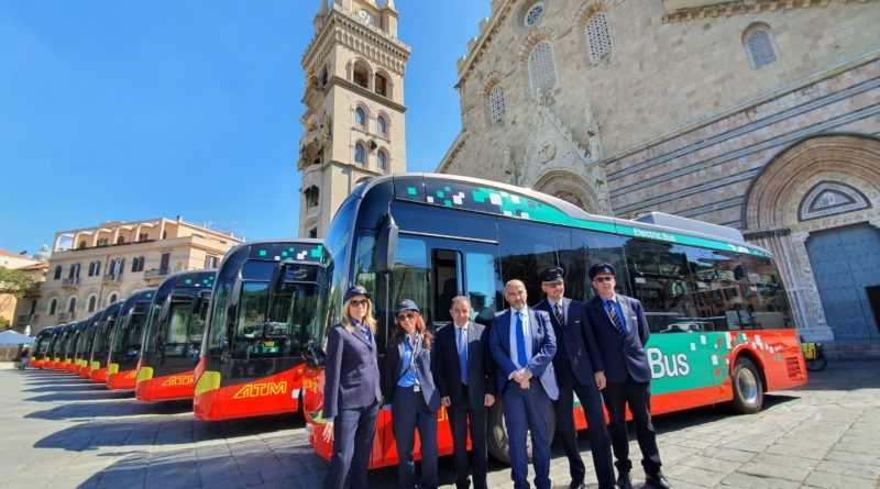 Trasporti, 16 autobus elettrici in flotta Atm Messina