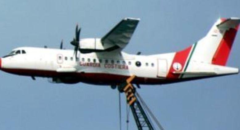 Diportista soccorso a Otranto da aereo Capitaneria di Catania