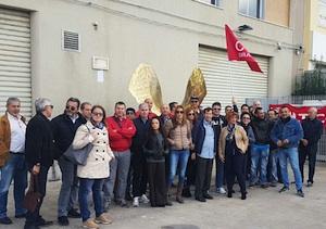 I lavoratori dell'Augustea oggi in sciopero contro i tagli della società