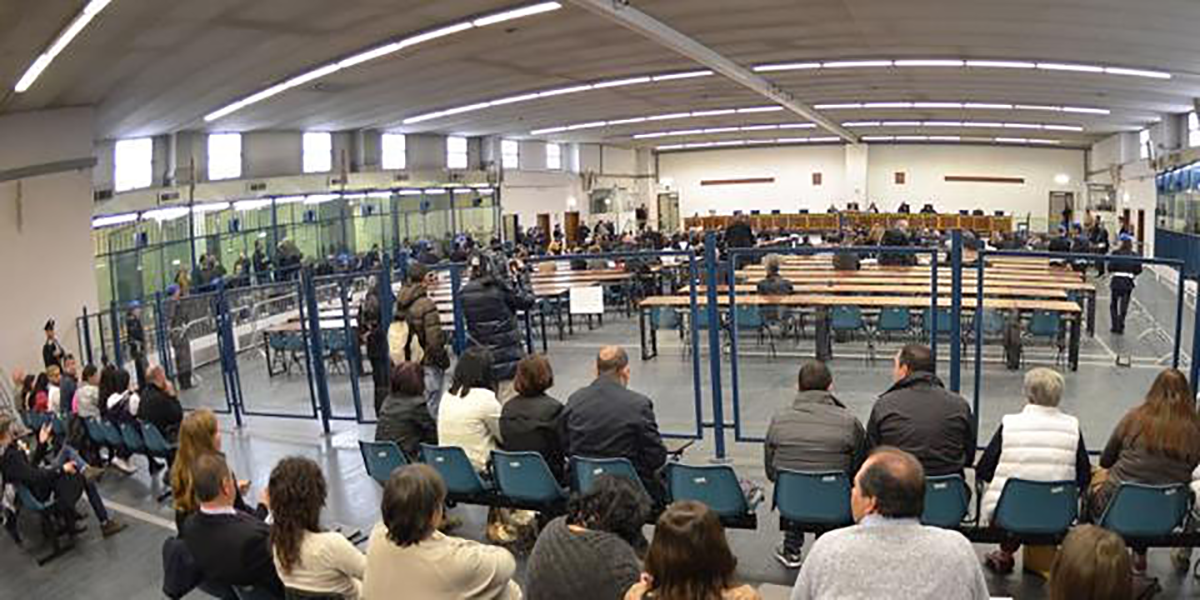 Intervista nell'aula bunker di Lamezia Terme: protestano gli avvocati