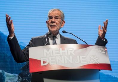 Il verde Van der Bellen è il nuovo presidente dell'Austria