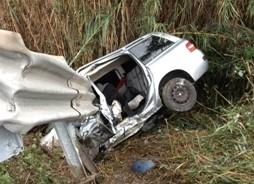 Con l'auto finisce fuori strada, morta una ragazza di 24 anni ad Andria