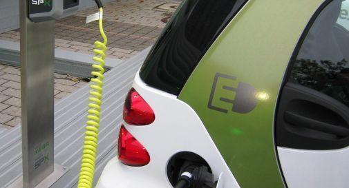 Auto elettrica in dotazione alla Questura di Palermo