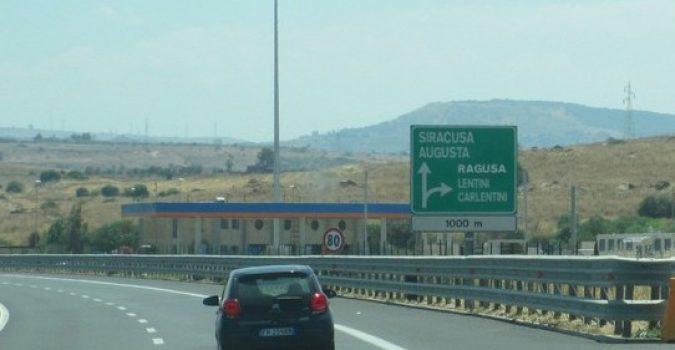 Lavori dal 7 settembre sull'autostrada Siracusa-Catania