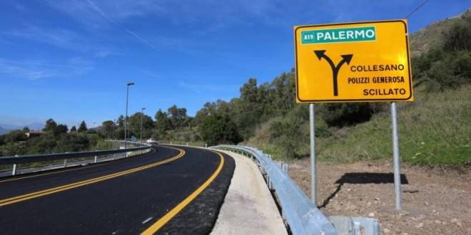 Autostrade Sicilia: sopralluogo sulla A19, tre viadotti riaperti a breve