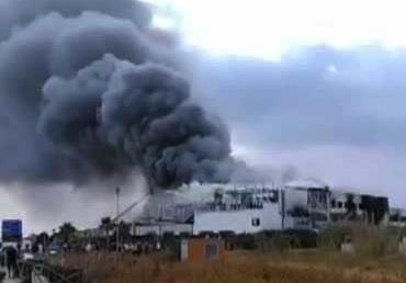 L'incendio all'Avimec di Modica non ferma la produzione,  prime soluzioni di emergenza