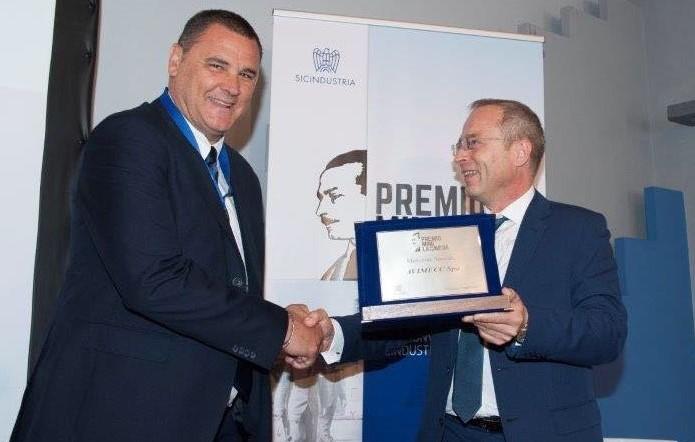 L'azienda Avimecc di Modica premiata da Sicindustria a Palermo