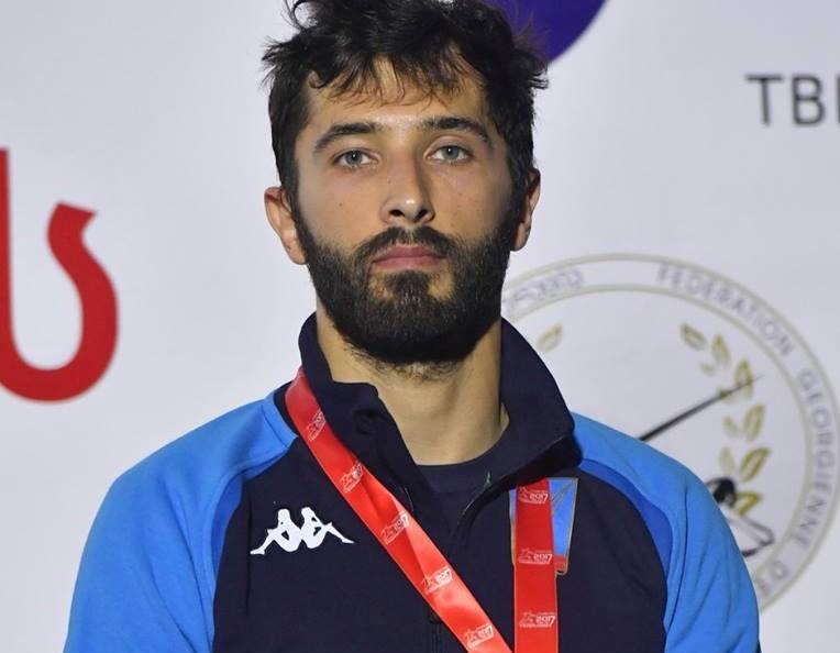 Scherma, fioretto: Giorgio Avola medaglia di bronzo individuale agli Europei