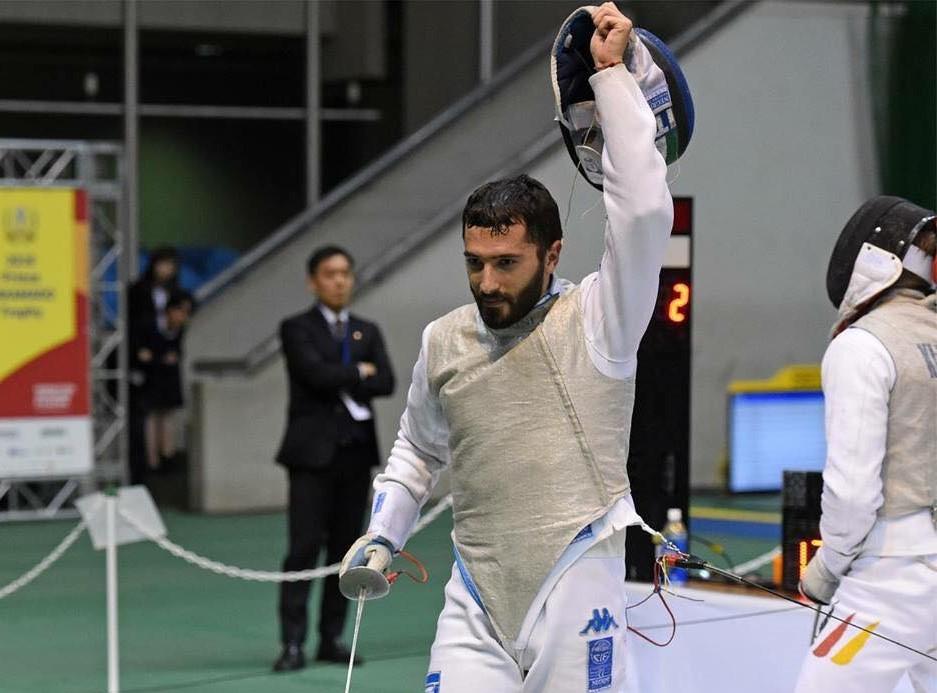 Scherma, Giorgio Avola a Tokio per la seconda prova di Coppa del Mondo
