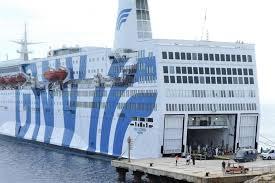 Nave quarantena 'Azzurra' al largo del porto di Siracusa