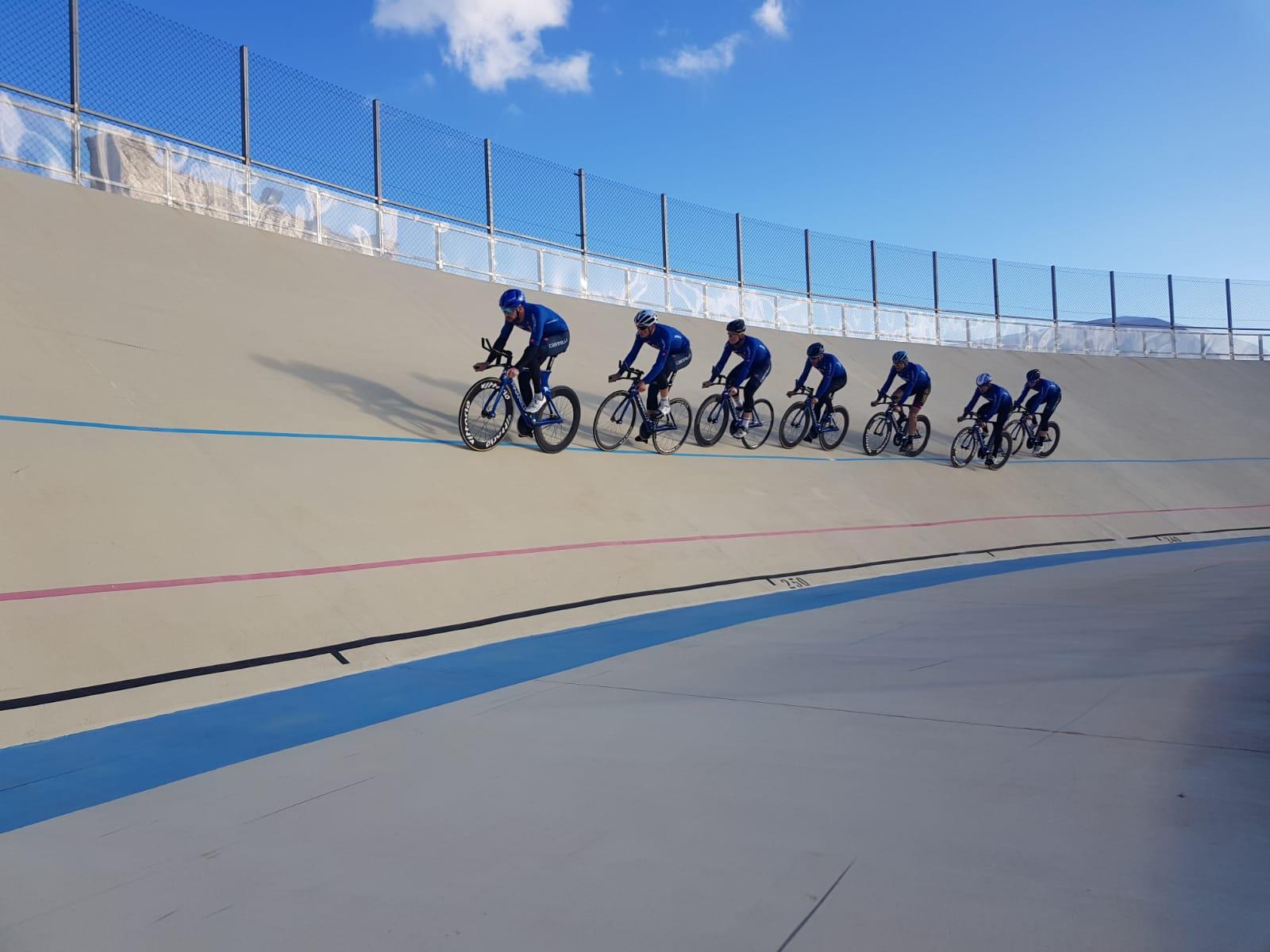 Ciclismo, la nazionale su pista  sverna a Noto in vista delle Olimpiadi di Tokio
