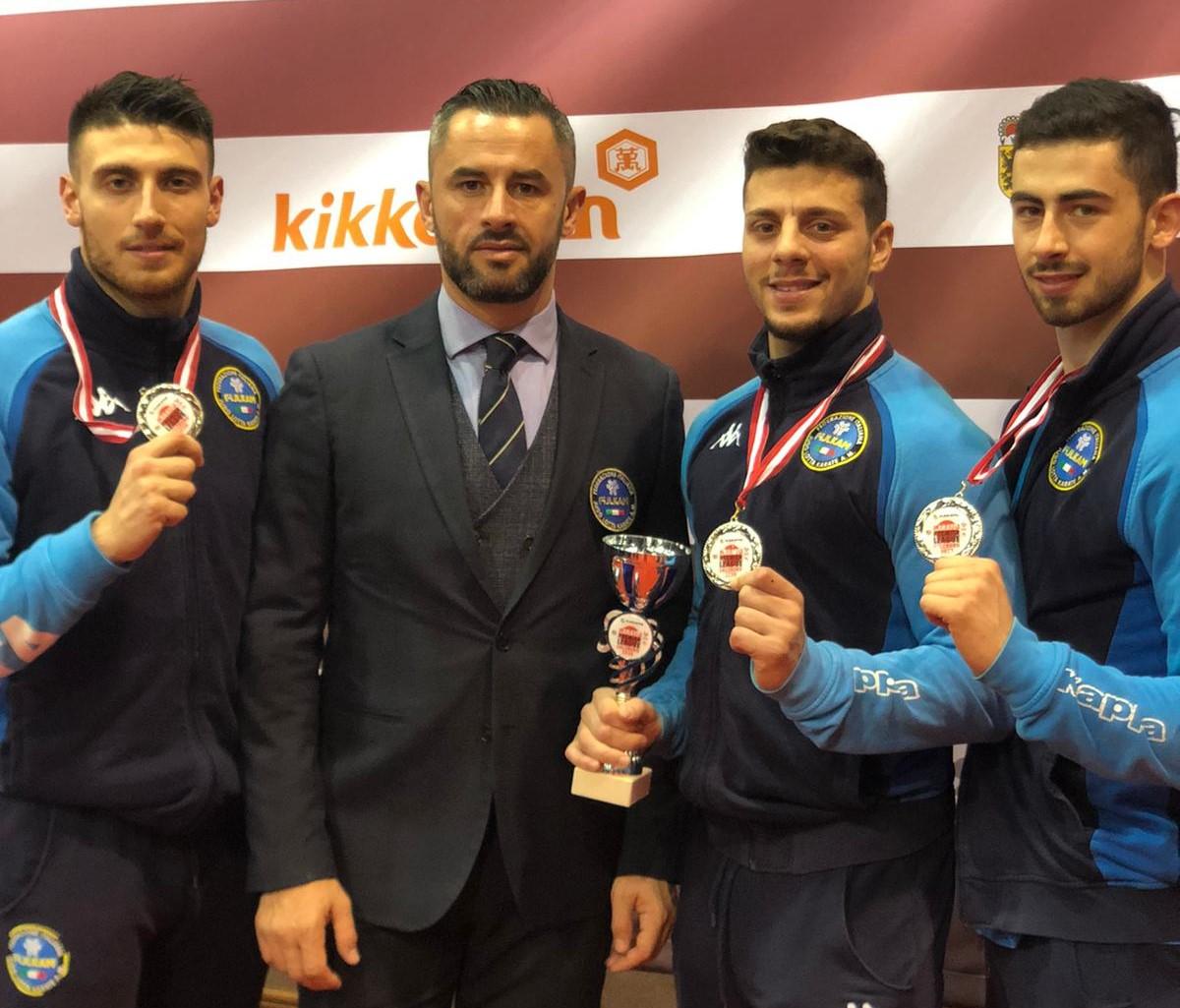 Karate, il vittoriese Giuseppe Panagia argento con la Nazionale italiana a Salisburgo