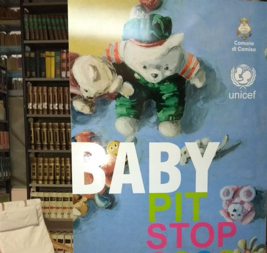 """Comiso, nuova apertura """"Baby Pit Stop Unicef"""" alla biblioteca comunale"""