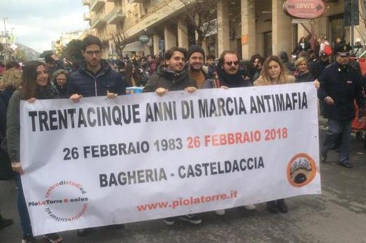 Migliaia in marcia a Bagheria per urlare il proprio No alla mafia