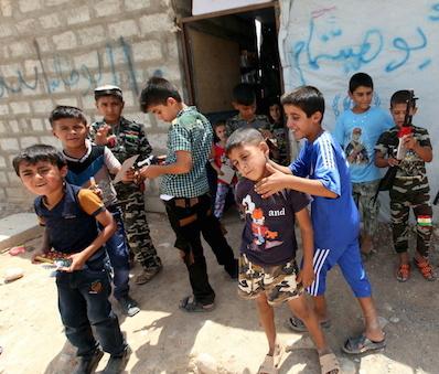 """Iraq, l'allarme dell'Unicef: """"Si proteggano i bambini di Mosul"""""""