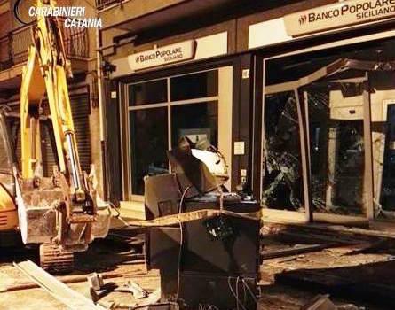 Sventato un furto al Banco popolare siciliano di Misterbianco