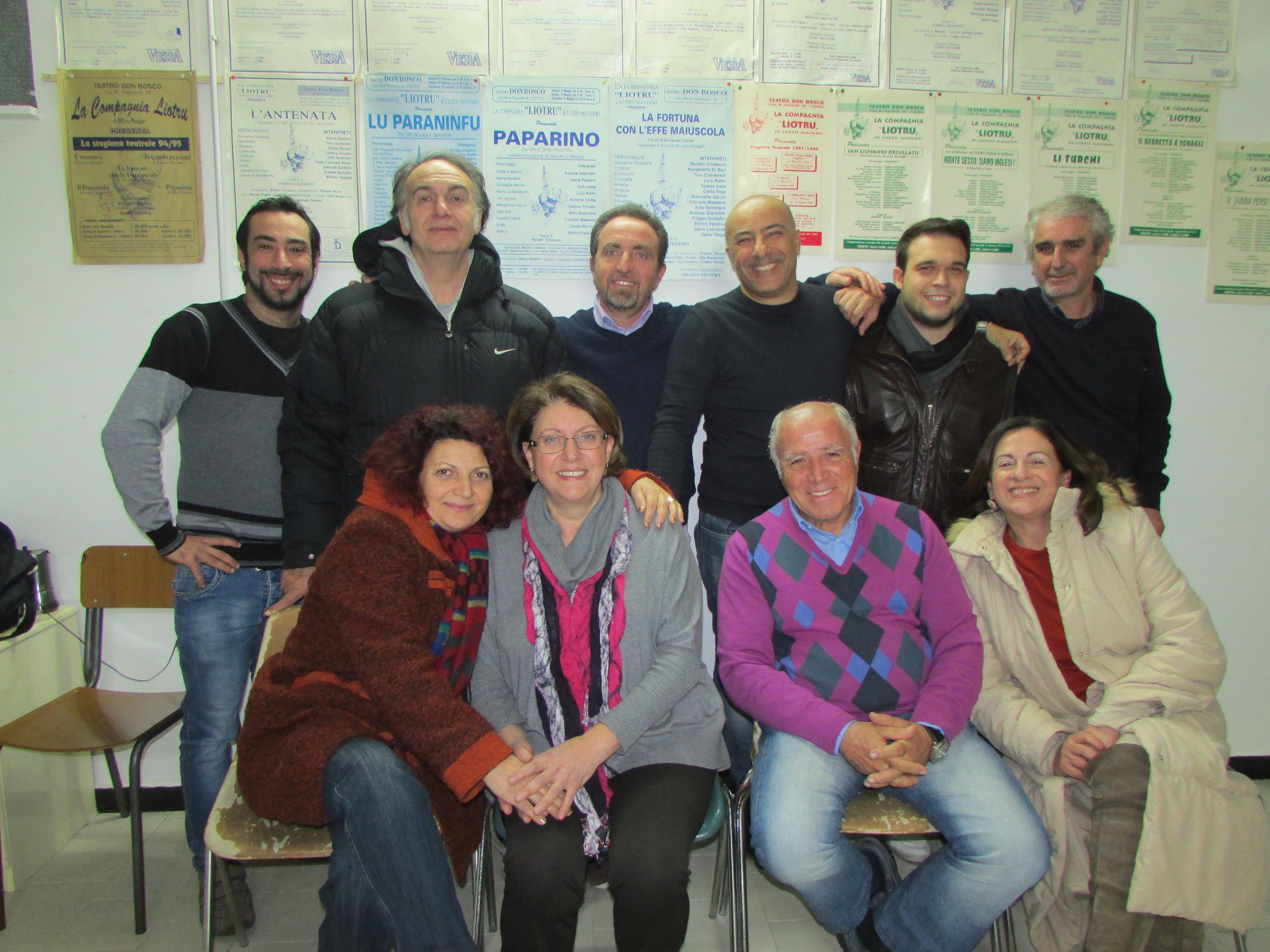 """Catania, la compagnia Liotru porta in scena """"La banda degli onesti"""""""