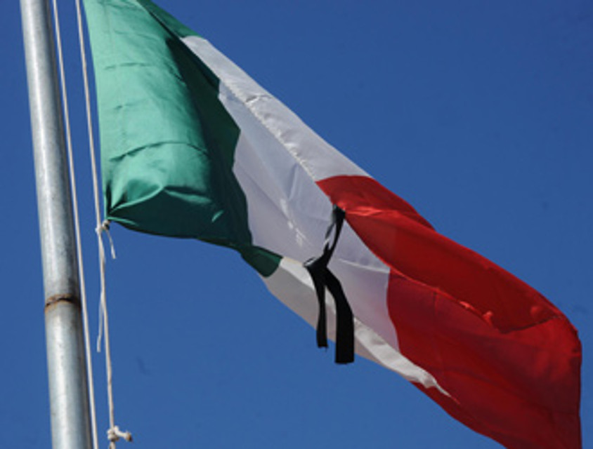 Catania, oggi bandiere a mezz'asta in tutte le sedi della Uil per il carabiniere morto in servizio