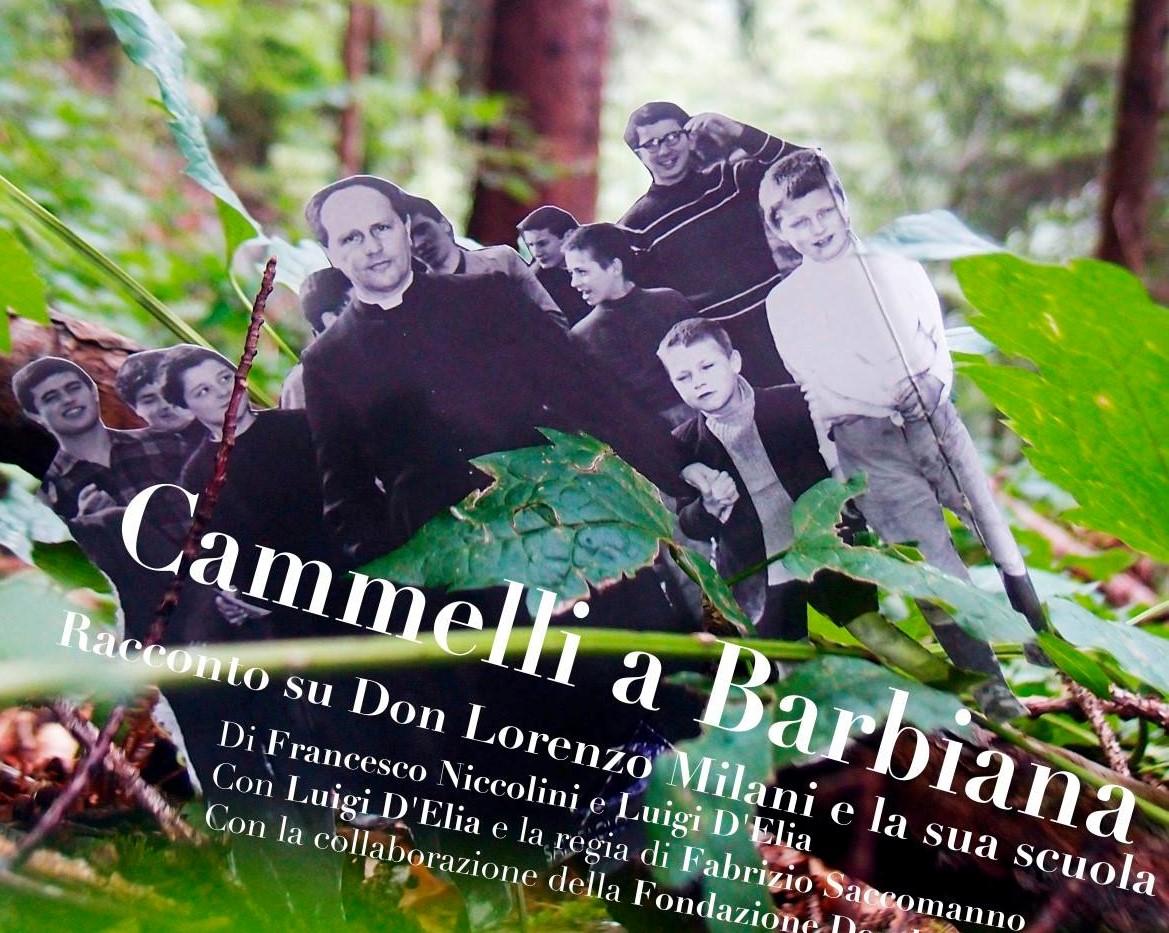 """Modica, spettacolo """"Cammelli a Barbiana"""" per ricordare Don Milani"""