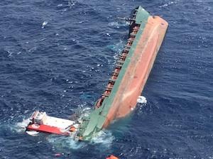 Siracusa, il cargo affondato a 22 miglia da Murro di Porco: la Procura apre un'inchiesta