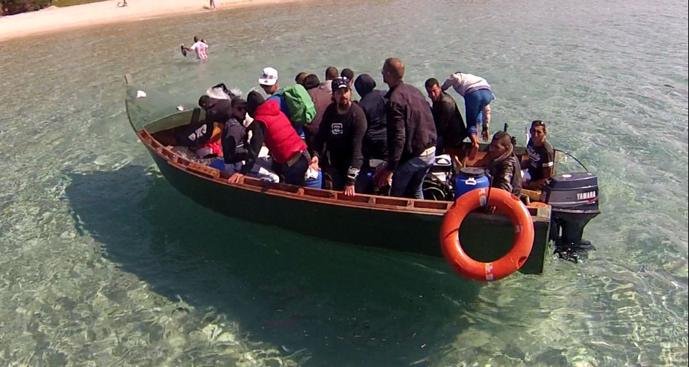 Arrivati a Lampedusa 4 barchini: 63 tunisini a bordo