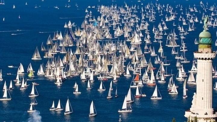 Annullata la Barcolana a Trieste per il maltempo
