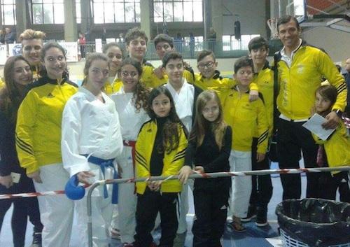 L'Accadenia karate Bartolo di Portopalo conquista 4 ori a Belpasso negli esordienti