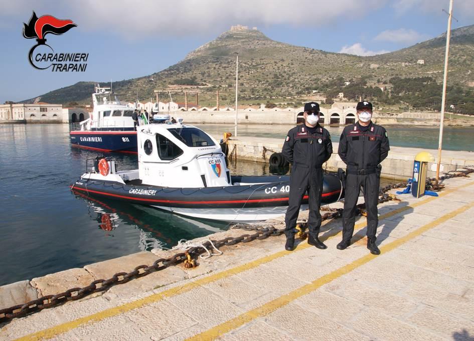 Quattro turisti soccorsi nel mare di Favignana
