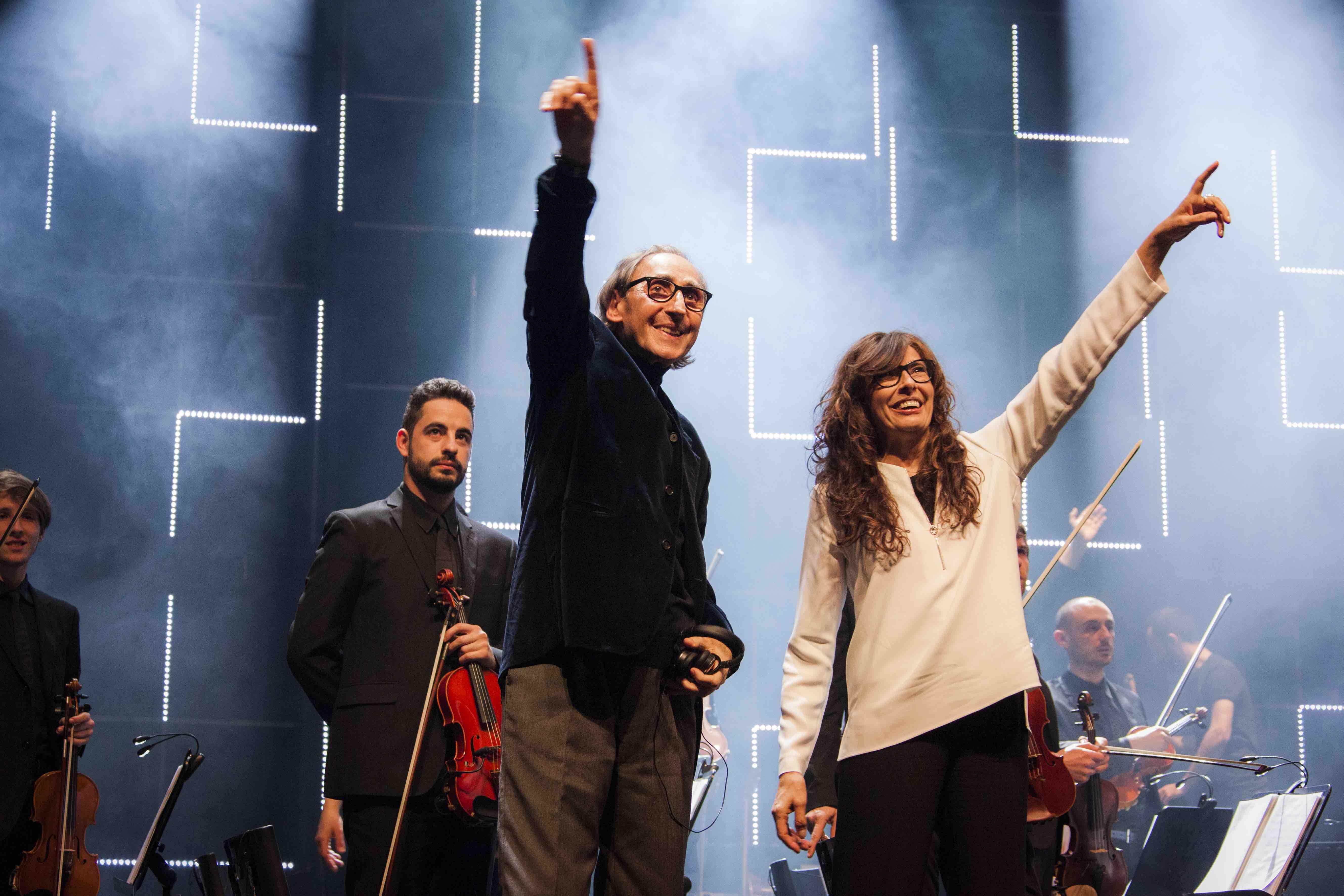 Battiato e Alice in concerto al Teatro Greco di Taormina