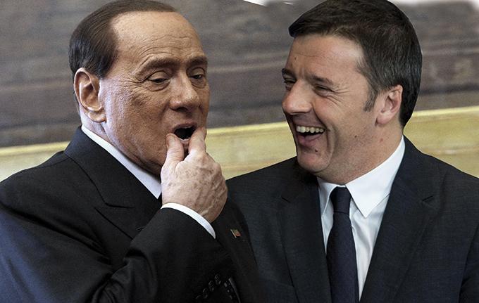 Berlusconi: no governo con Renzi: nè ora, nè dopo voto