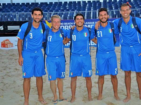 Beach soccer, nazionale azzurra a Catania per la qualificazione agli Europei