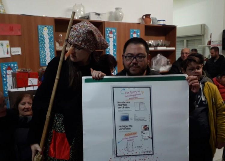 Modica, nei locali dell'Anffas festeggiata la Befana tra solidarietà, regali e dolci